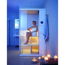 Duravit Inipi B sauna campact narożna biała 1175x1170x2130mm - 426849_O1