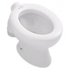 Villeroy & Boch O.Novo miska WC stojąca lejowa dla dzieci, 315 x 510 mm, bez otworów mocujacych do deski sedesowej, odplyw pionowy zewnetrzny, Weiss AlpinO1