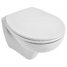 Villeroy & Boch Omnia classic compact, miska WC wisząca kompakt, 350 x 490 mm, Weiss AlpinO1