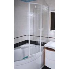 Ravak parawan nawannowy VSK2-100 Rosa II 170 lewa biała szkło transparentO1