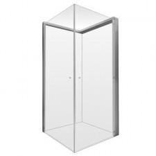 Duravit OpenSpace kabina prysznicowa kwadratowa 80x80 cm, armatura prawa, szkło przezroczyste - 453692_O1