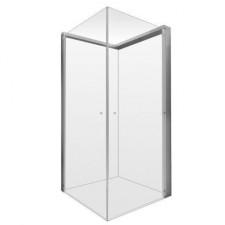 Duravit OpenSpace składana kabina prysznicowa narożna prawa szkło lustrzaneO1