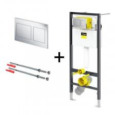 Viega Visign Prevista Dry zestaw Stelaż + mocowanie + przycisk nr kat. 773 236 - 818303_O1