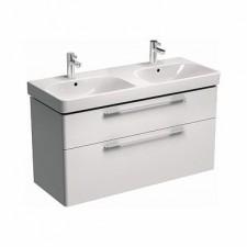 Koło Traffic szafka podumywalkowa 120cm do podwójnej umywalki biały połysk - 487874_O1
