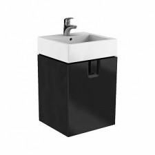 Koło Twins szafka z 1 szufladą 50cm czarny mat - 597130_O1