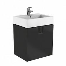 Koło Twins szafka z 1 szufladą 60cm czarny mat - 596982_O1