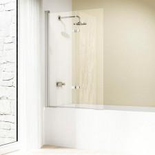 Huppe Design Elegance Parawan nawannowy Drzwi skrzydlowe skladane 100/l H:1500 srebrny matowy 322 - 438670_O1