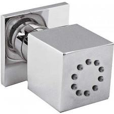 Tres dysza natryskowa boczna 1 rodzaj strumienia zawór przeciwzwrotny i ogranicznik przepływu: 5 l/min chrom - 4824_O1