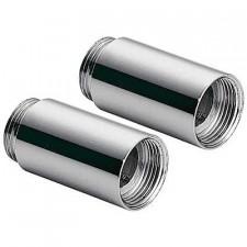 Tres przedłużka do baterii wannowej chrom - 4544_O1