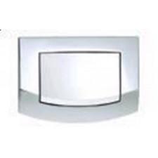 Tece Ambia Przycisk spłukujący do WC chrom połysk, pojedynczy - 164255_O1