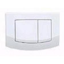 Tece Ambia Przycisk spłukujący do WC biały, podwójny - 164256_O1