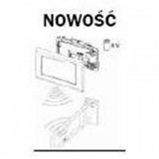 Tece Planus mechanizm elektroniczny do stelaża podtynkowego WC o nr kat. 9300081, zasilany bateryjnie 6V - 164264_O1