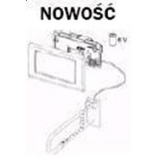 Tece Planus mechanizm elektroniczny do stelaża podtynkowego WC o nr kat. 9300081, zasilany bateryjnie 6V, - 164265_O1