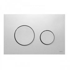 Tece Loop przycisk spłukujący do WC z tworzywa, chrom matowy - 528502_O1