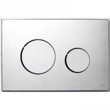 Tece Loop przycisk spłukujący do WC z tworzywa, chrom połysk - 164241_O1