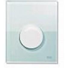 Tece Loop przycisk spłukujący ze szkła do pisuaru, szkło zielone, przycisk chrom połysk - 164270_O1