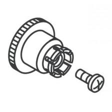 Hansgrohe Wkładka zatrzaskowa ze śrubą biały - 458834_T1