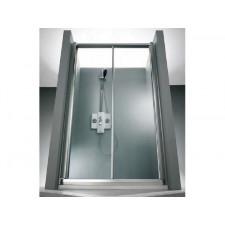 Huppe 1002 Drzwi suwane 2-częściowe srebrny matowy Anti-Plaque - 540385_O1