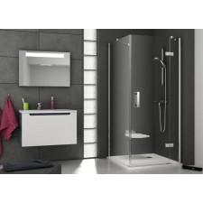 Ravak SmartLine ścianka prysznicowa SMPS-100 lewa chrom transparent - 467345_O1