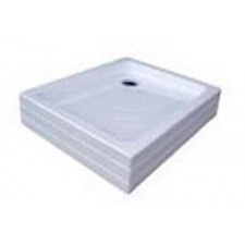 Ravak brodzik Aneta 75x90 PU białaO1