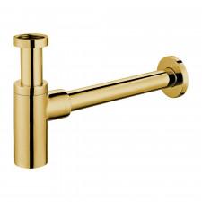 Omnires syfon umywalkowy ozdobny, złoto - 782475_O1