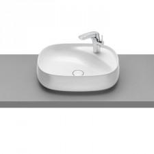 Roca Beyond umywalka nablatowa 560x430 fineceramic maxi clean biała - 779889_O1