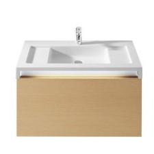 Roca Stratum umywalka ścienna z blatem 90x50 cm (możliwy montaż na blacie) Maxi Clean - 488504_O1