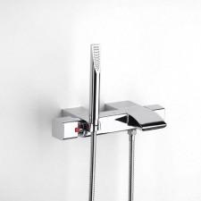 Roca Thesis bateria wannowo-prysznicowa ścienna termostatyczna z zestawemO1
