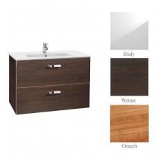 Roca Victoria Basic zestaw łazienkowy Unik z 2 szufladami 100cm (szafka + umywalka) biały - 488374_O1
