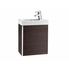 Roca Mini zestaw łazienkowy unik mini 45x25 cm (szafka + umywalka) wenge - 598247_O1