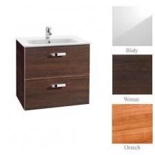 Roca Victoria Basic zestaw łazienkowy Unik z 2 szufladami 60cm (szafka + umywalka) biały - 472724_O1