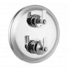 Omnires Armance termostatyczna bateria 3-wyjściowa podtynkowa chrom - 767893_O1