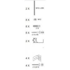 Ravak zestaw montażowy panel Kit Avocoda - 177982_O1