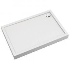 Omnires Camden brodzik prysznicowy akrylowy, prostokątny, 80x100cm, biały połysk - 782571_O1