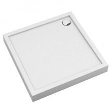 Omnires Camden brodzik prysznicowy akrylowy, kwadratowy, 90x90cm, biały połysk - 782579_O1