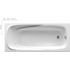 Ravak wanna Vanda II 160x70 biała - 467391_O1