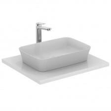 Ideal Standard Ipalyss umywalka nablatowa 55x38 bez otworu na baterię bez przelewu biała - 741257_O1