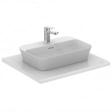 Ideal Standard Ipalyss umywalka nablatowa 55x38 z otworem na baterię z przelewem biała - 747323_O1