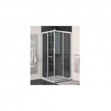 Sanswiss Ronal Eco-Line drzwi przesuwane (1/2 kabiny) prawe 80 profil połysk, szkło przezroczyste - 464833_O1
