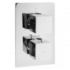 Omnires Fresh termostatyczna bateria wannowa podtynkowa chrom - 768007_O1