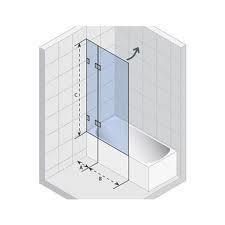 Riho Soft kabina wannowa Q110 90x90 cm P - 456232_O1