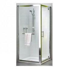Koło Geo 6 drzwi prysznicowe Pivot 90cm szkło profil połysk - 351511_O1