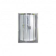 Koło GEO 6 kompletna kabina 1/4 koła drzwi rozsuwane 80cm, szkło (GKPG80222003A+ GKPG80222003B) - 720354_O1