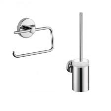Hansgrohe Logis Zestaw akcesoriów łazienkowych (40526000 +40522000) chrom - 467755_O1