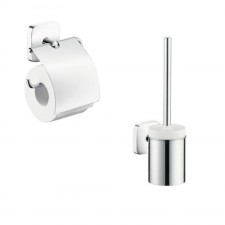 Hansgrohe PuraVida Zestaw akcesoriów łazienkowych (41508000 +41505000) chrom - 467764_O1