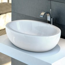 Ideal Standard Strada umywalka nablatowa owalna 60x42cm Ideal Plus biała - 552761_O1