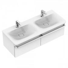 Ideal Standard Tonic II umywalka podwójna 120x50cm 2-otworowa biała - 576390_O1