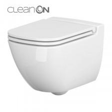 Cersanit Caspia miska wc wisząca Clean On bez deski box - 762622_O1