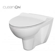 Cersanit Parva miska wc wisząca Clean On bez deski box - 762625_O1