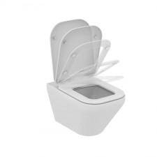 Ideal Standard Tonic II miska WC wisząca AquaBlade z deską sedesową zwykłą biały - 576272_O1